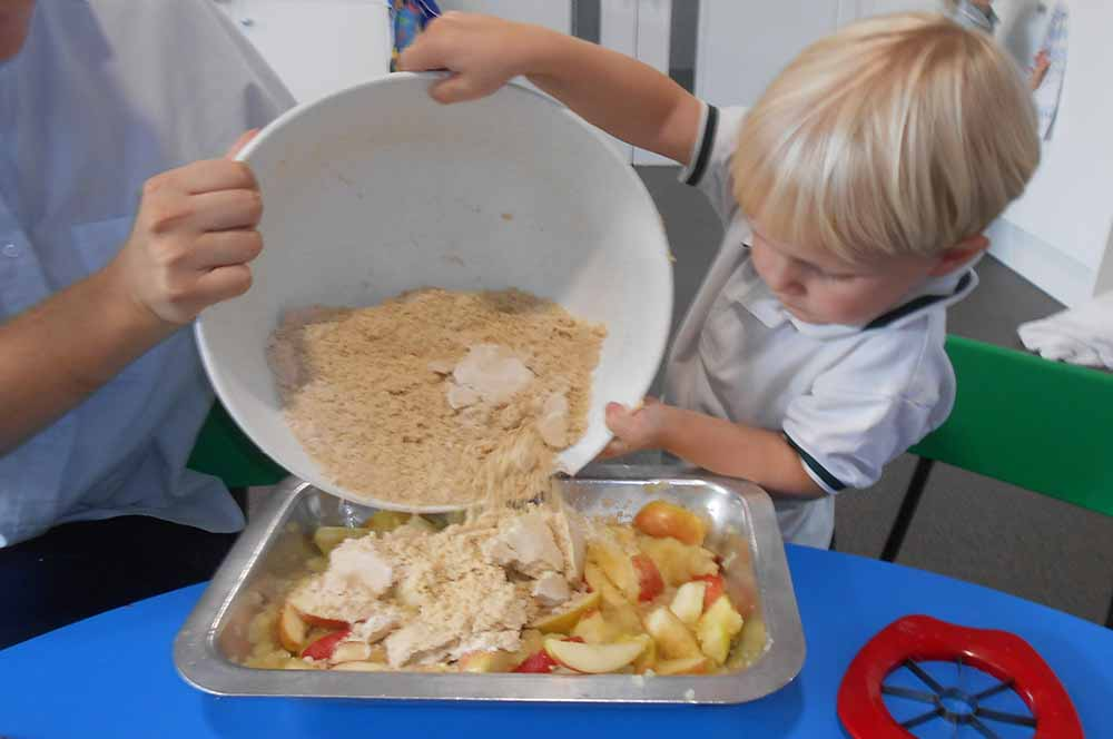 Yarrells Prep School Cooking