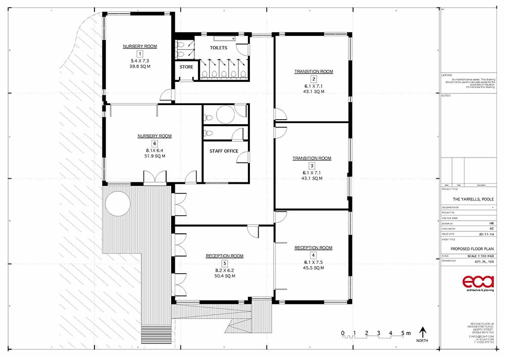 Yarrells Early Years New Build - ECA Architects Plans