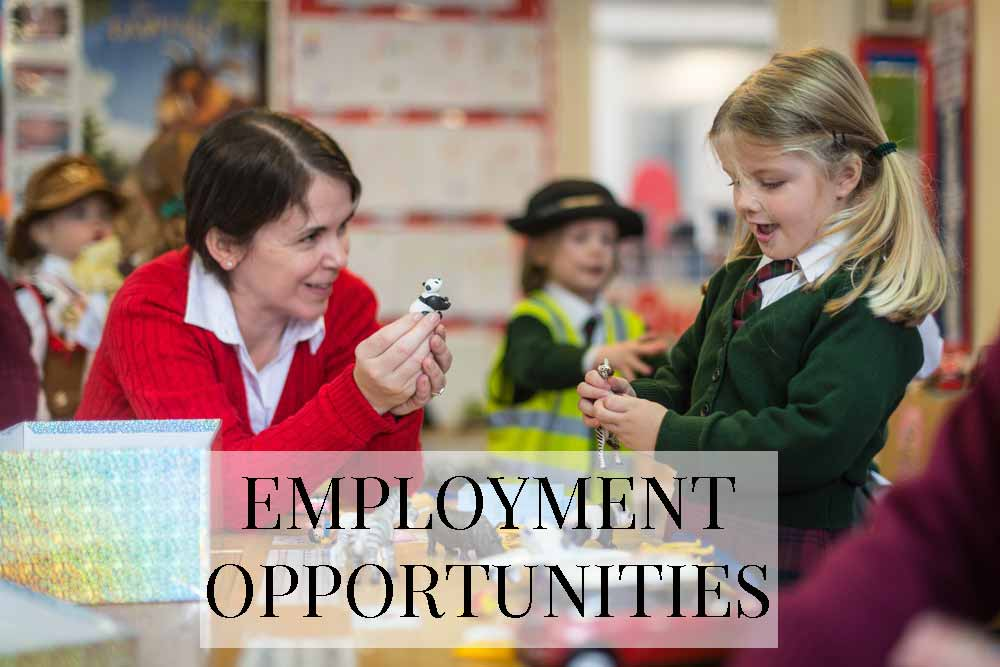 Yarrells Prep School EMPLOYMENT-OPPORTUNITIES