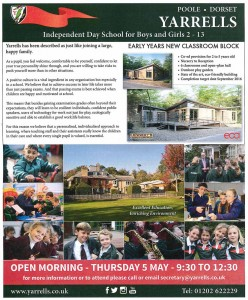 Yarrells Prep School Daily-Echo-April