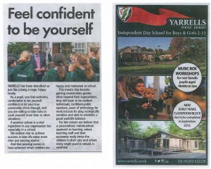 Yarrells prep School Daily-Echo-March