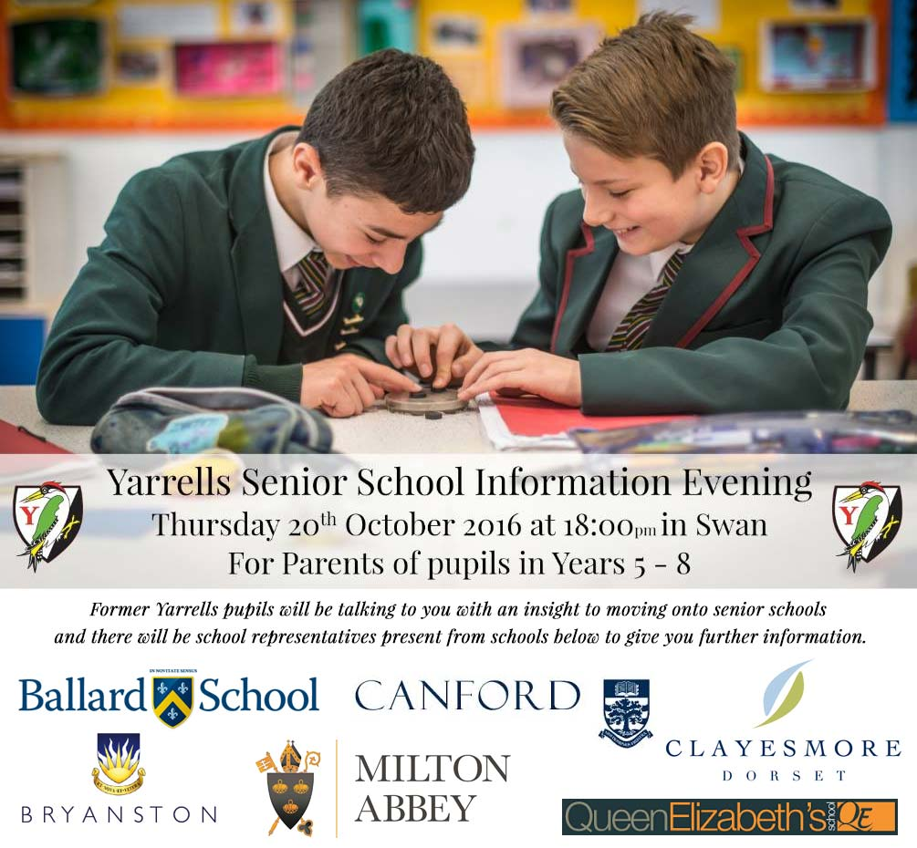 Yarrells School senior-school-information-evening