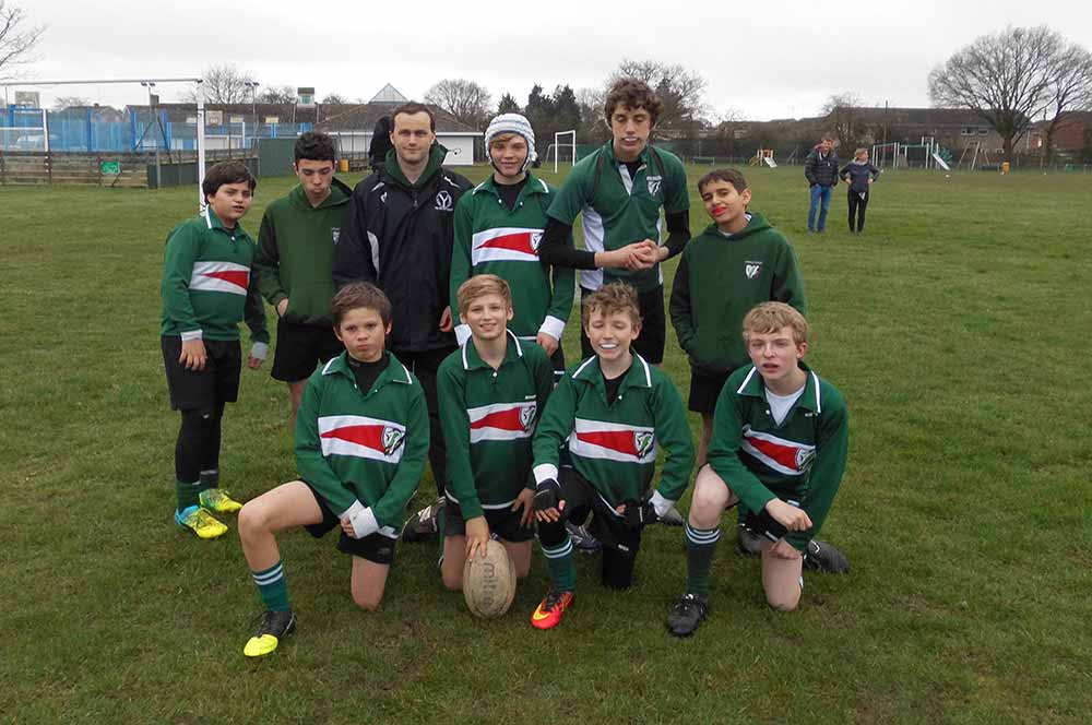 Yarrells School Year 8 Rugby Team