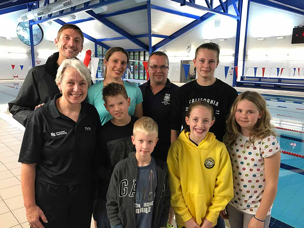 Yarrells Swimmers Train During Half Term At Canford School