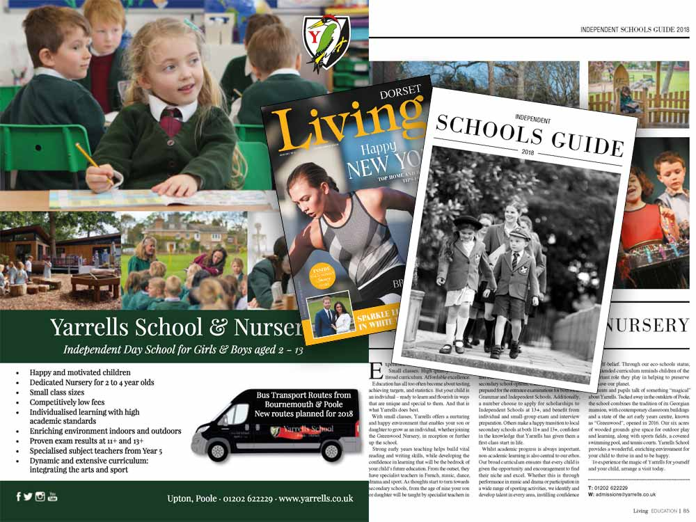 Read About The 'Magic' Of Yarrells School In Sandbanks Magazine & Dorset Living