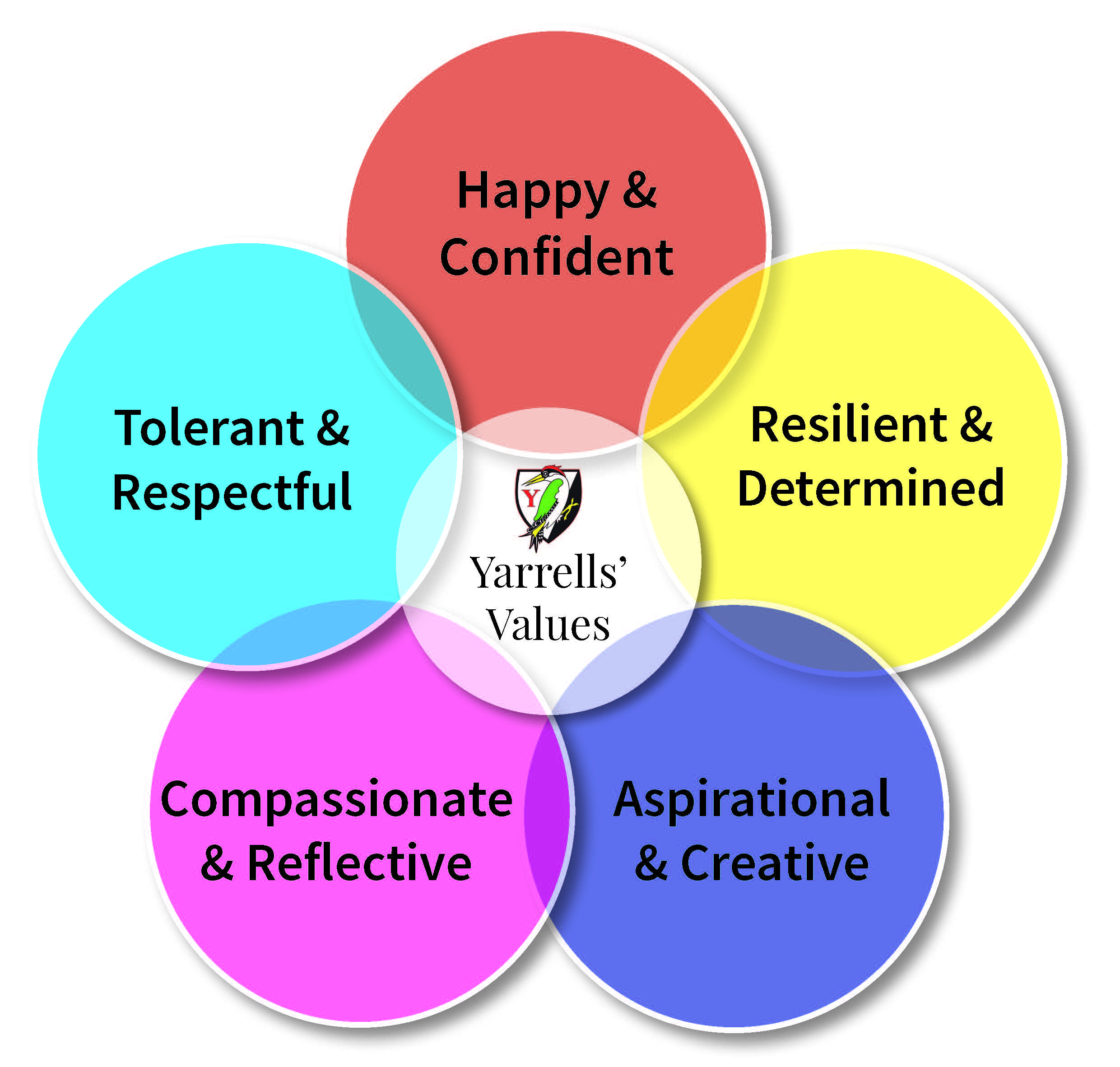 Yarrells' Values 2018