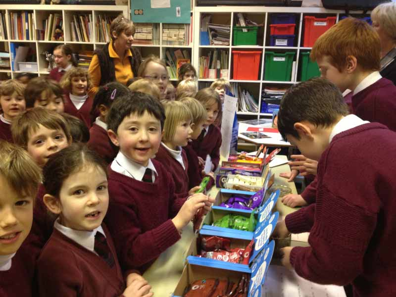 Yarrells School Fairtrade Sale