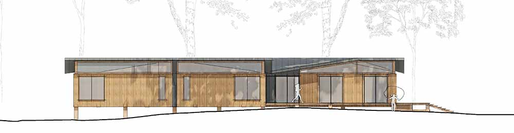 Yarrells Early Years New Build West Elevation