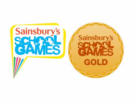 Image result for school games award gold