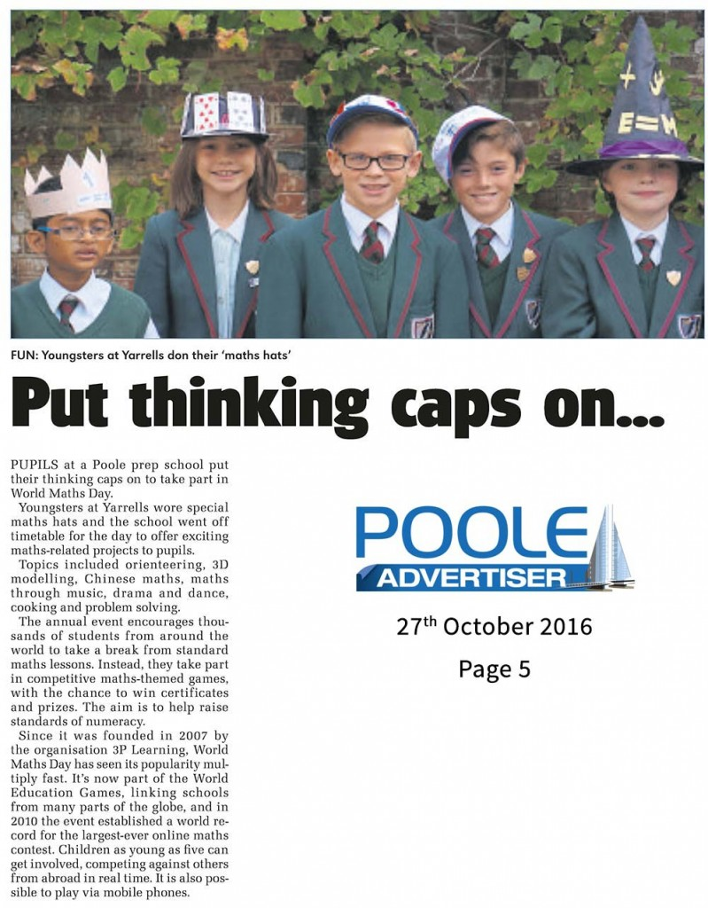 poole-advertiser-for-web-page-5-world-maths-day-at-yarrells-school