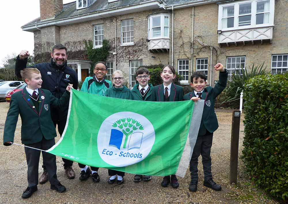 ECO-GREEN FLAG CONTINUES TO FLY OVER YARRELLS!