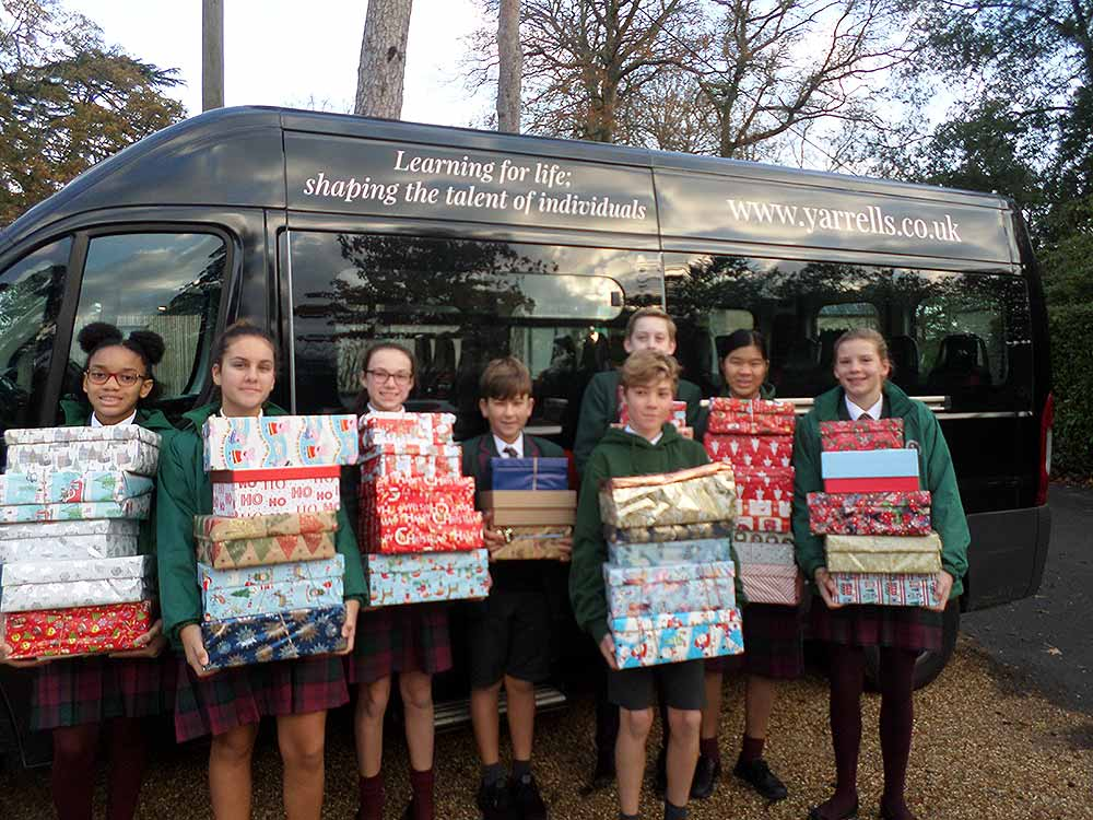 Yarrells-School-Christmas-Box-Appeal-2018