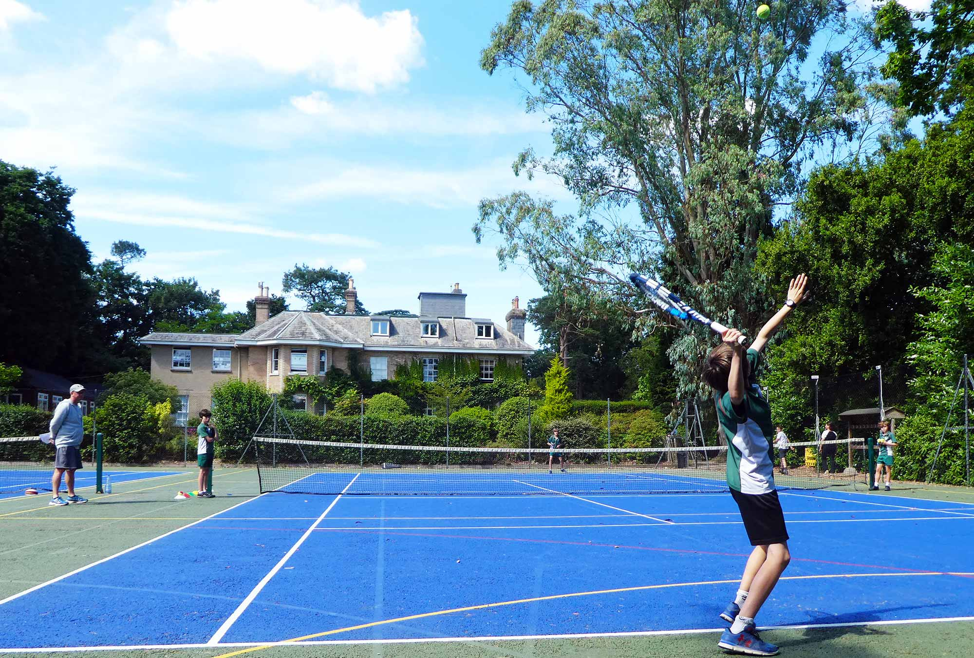 Tennis at Yarrells School