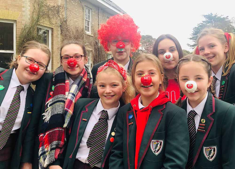 Yarrells School Red Nose Day Comic Relief