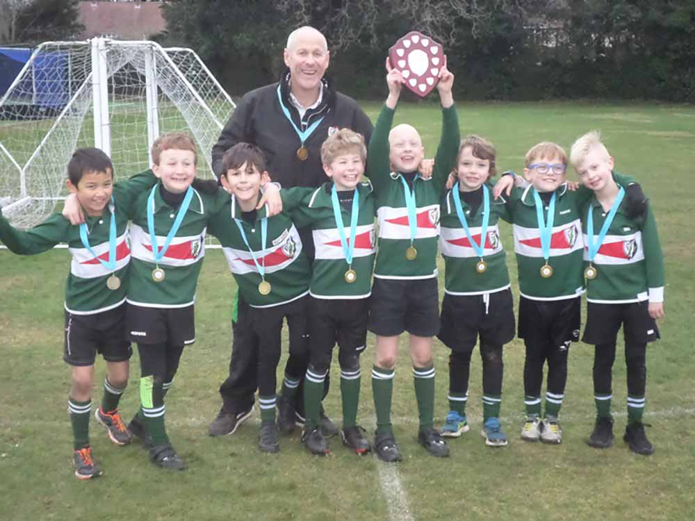 Yarrells School Year 4 Boys Win Tag Rugby Tournament