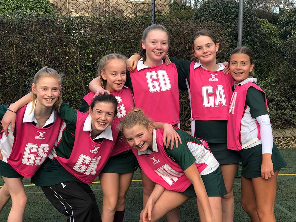 Yarrells-School-Girls-Netball