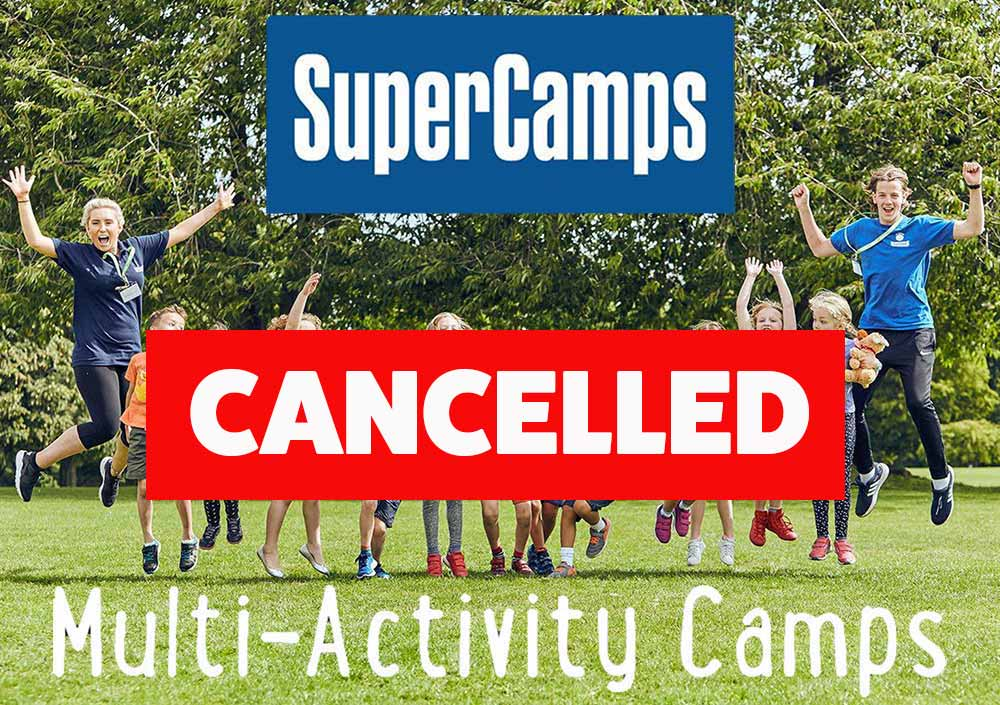 SUPER CAMPS (EASTER) CANCELLED