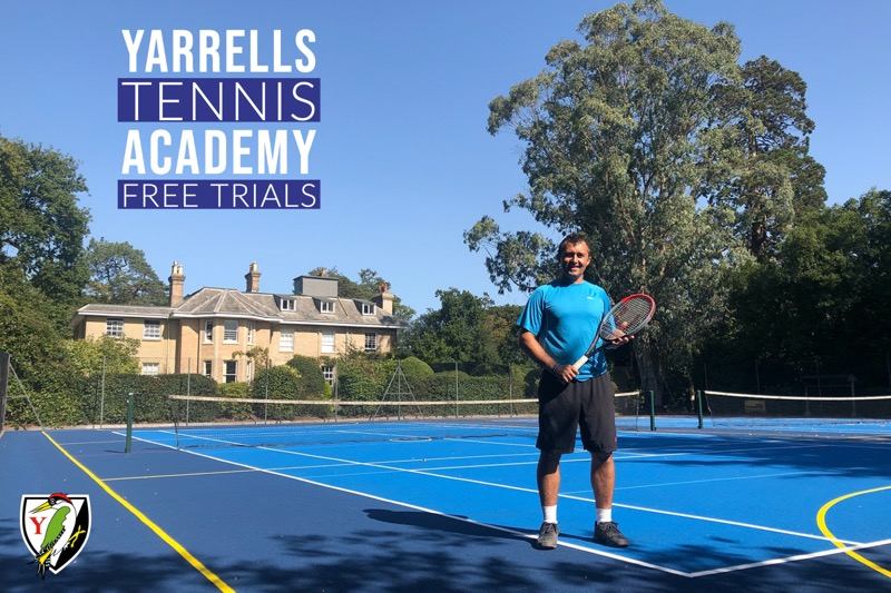 TENNIS ACADEMY – FREE TRIAL SESSIONS