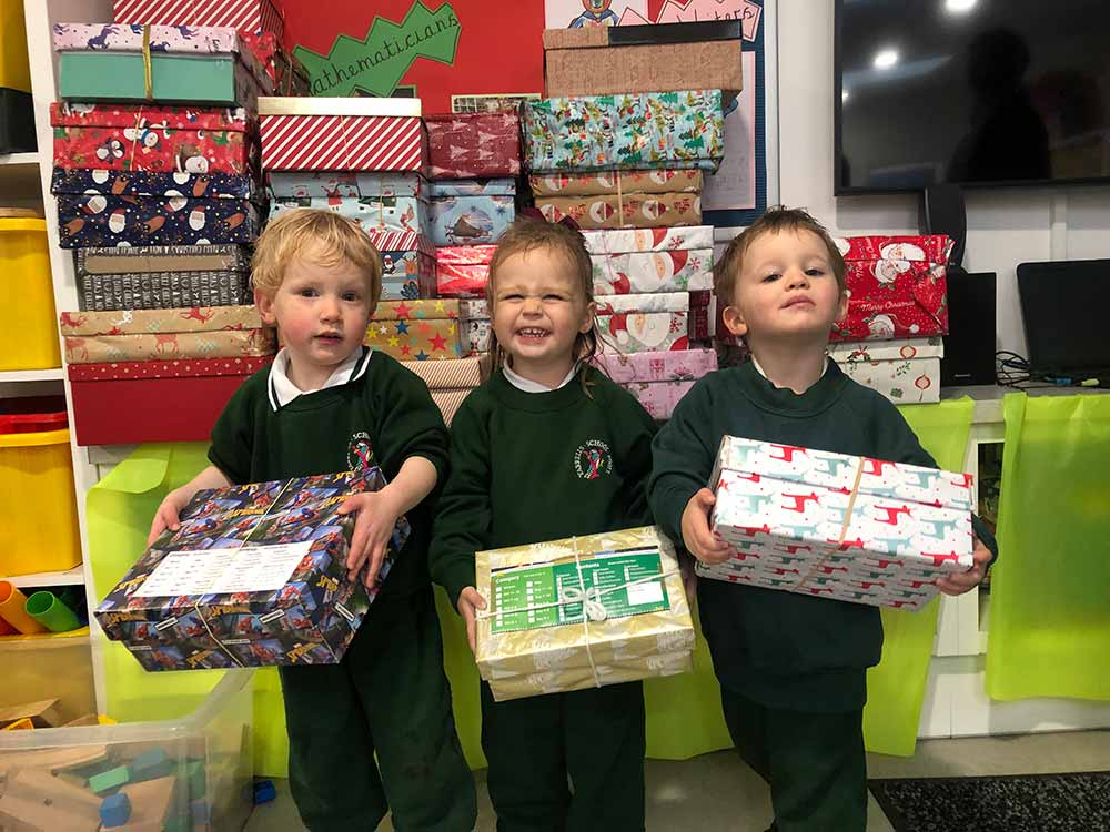 Yarrells' School Charity Donations