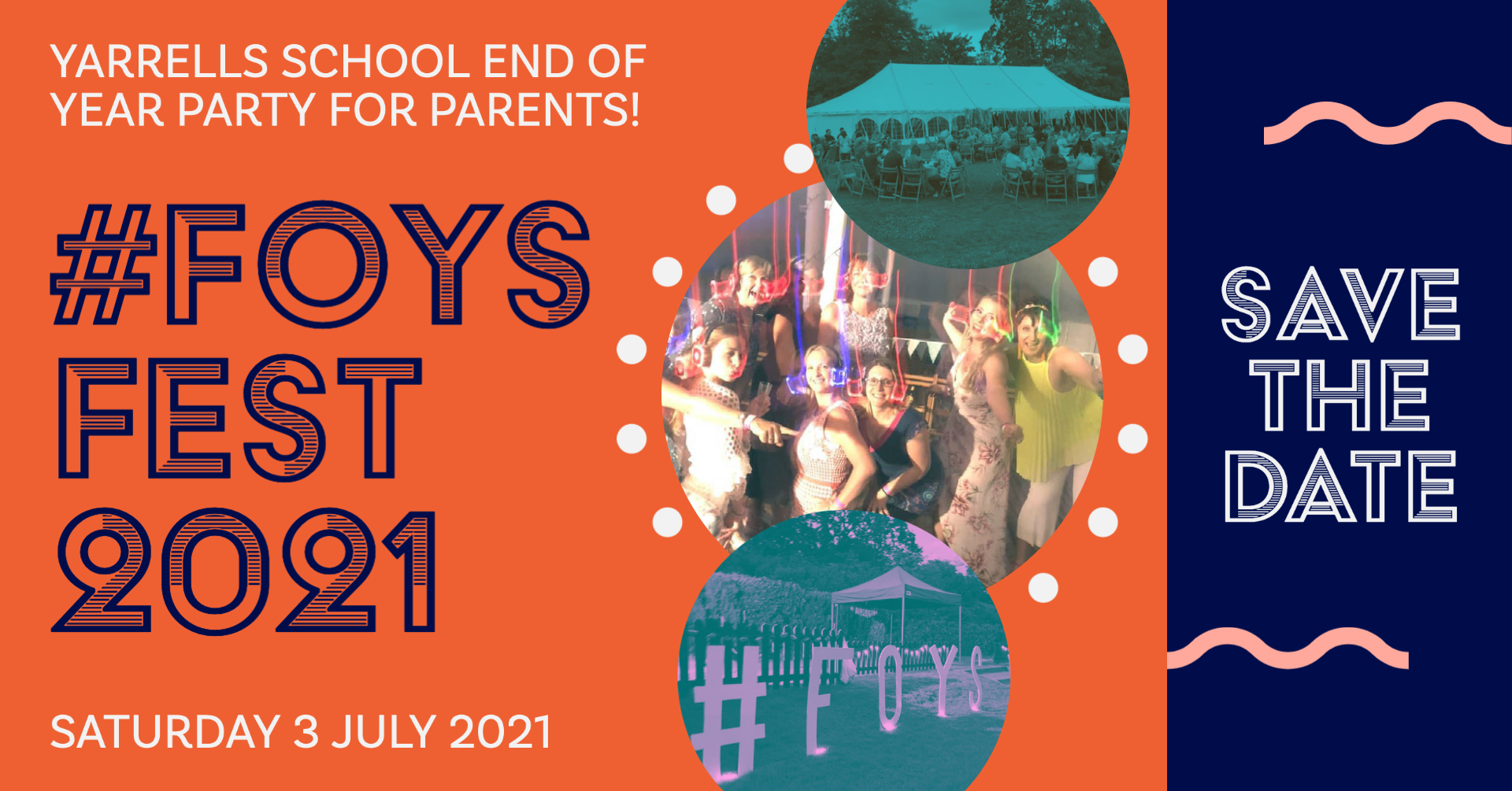 #FOYSFEST – End Of Year Party For Parents!