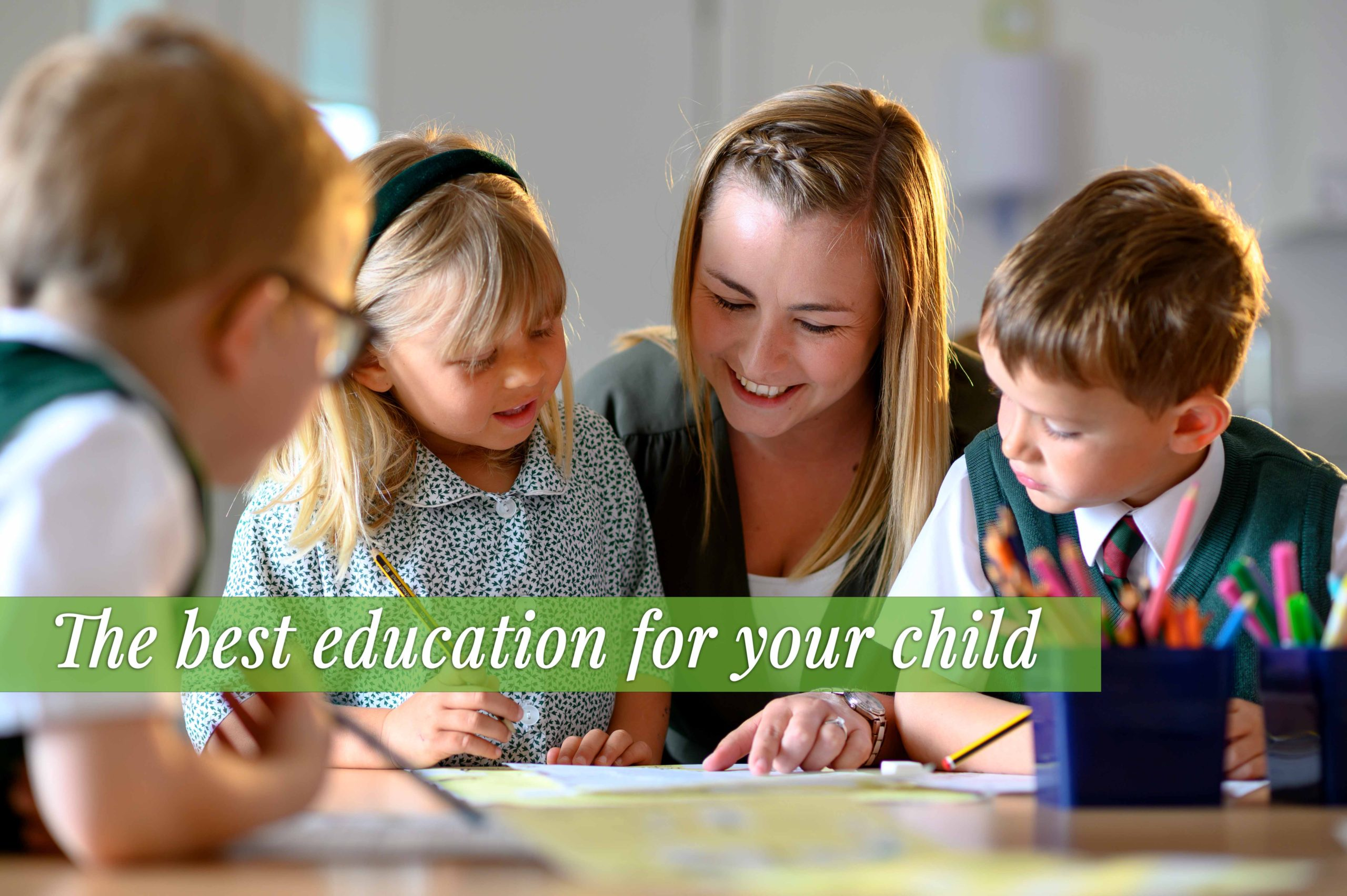 Come And See Us At Yarrells: The Best Education For Your Child.